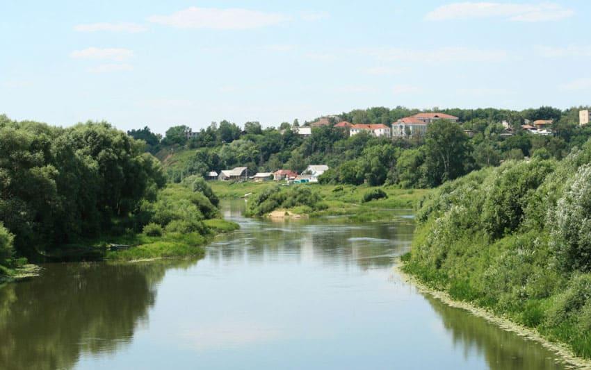 река Мокша Краснослободск