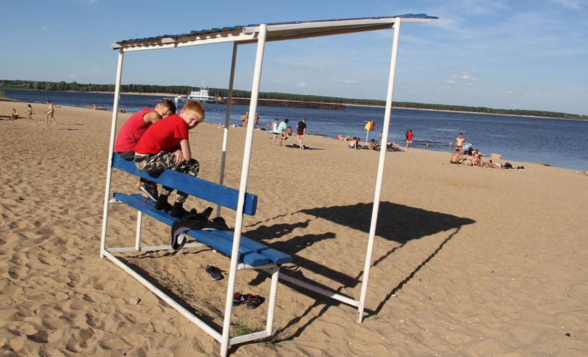 официальный пляж в Новочебоксарске
