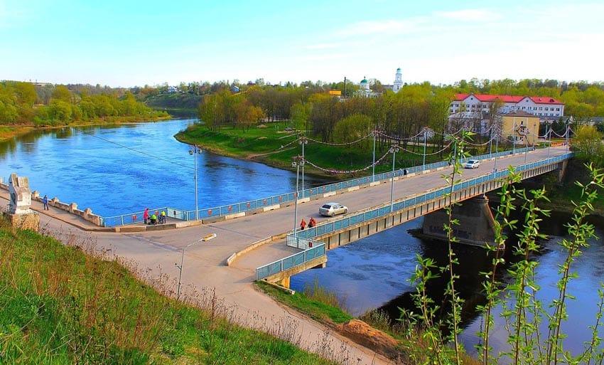 Волга город Ржев