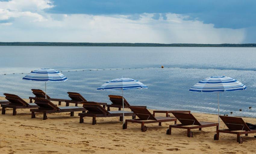 Пляж Коприно Рыбинск
