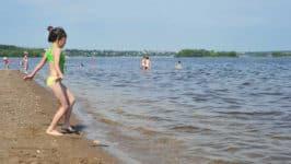 Пляж Сызрань