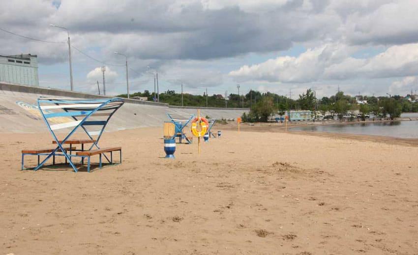 городской пляж сызрань