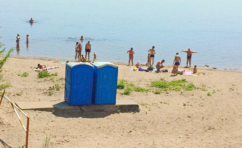 Пляж №1 Сызрань