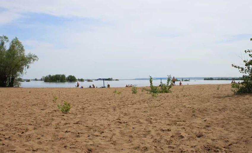 Пляж Дэу Сызрань