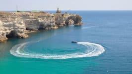 Пляжи мыса Тарханкут