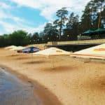 Пляж Волна в Тольятти