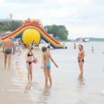 отдых пляж «Восток» в Тольятти