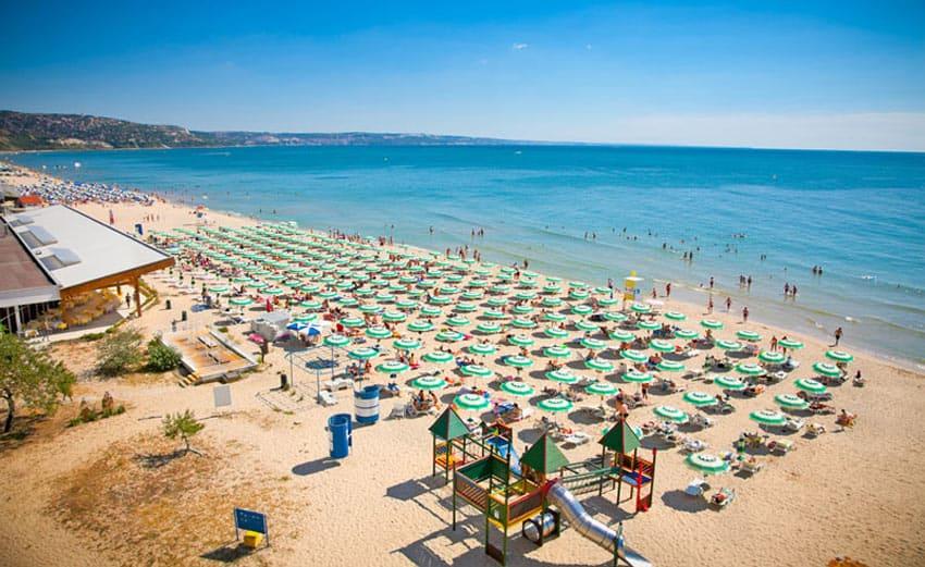 Пляж Ульяновска Золотой песок