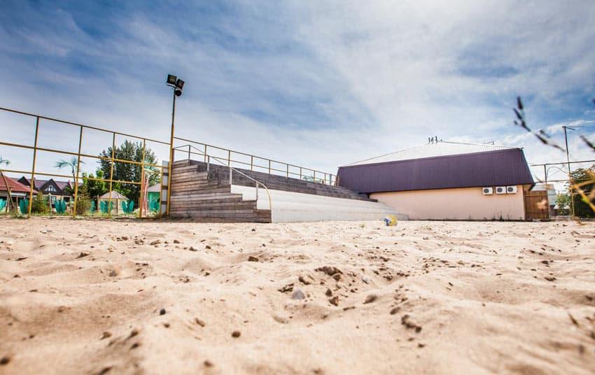 Платный пляж Энгельса