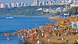 Пляжи Самары