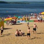центральный пляж Самара