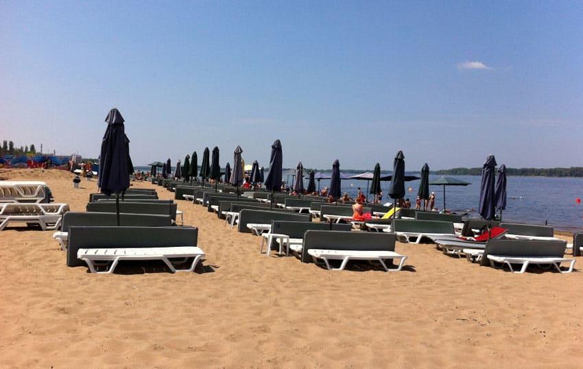 пляж kin.up самара