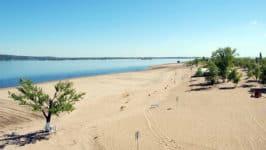 Пляжи Саратова