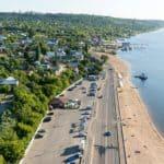 Пляж Затонский Саратов