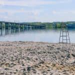 пляж Центральный в Костроме