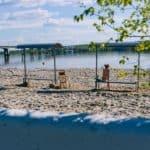 пляж Центральный Кострома