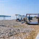 центральный пляж в Костроме