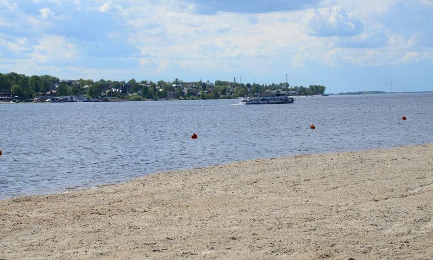 нудистский пляж Костромы