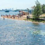 отдых на Борисовском пруду