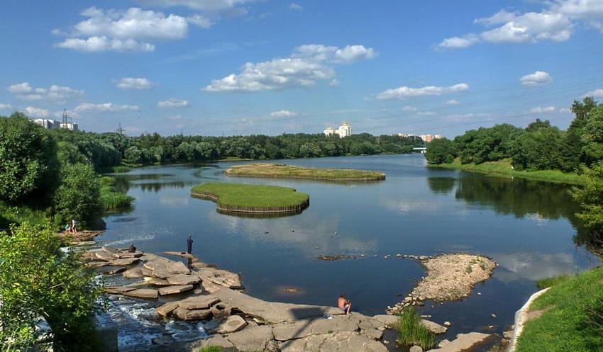 рыбалка Борисовские пруды Москва