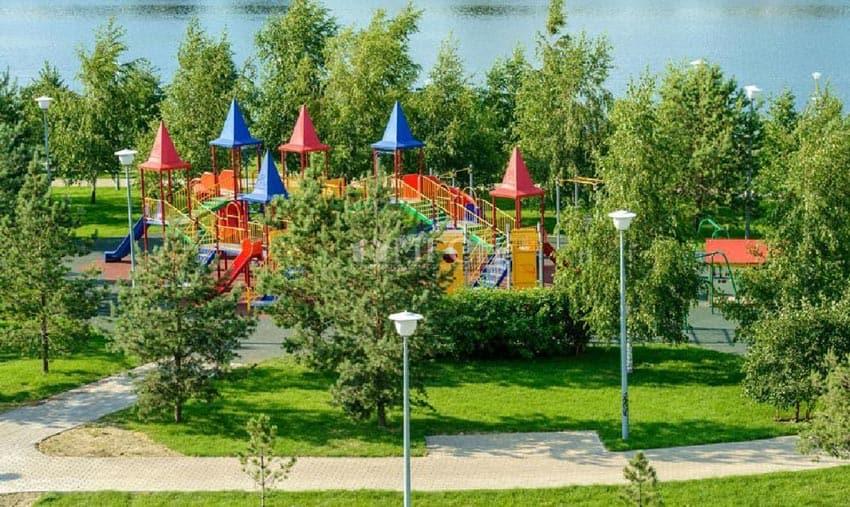 инфраструктура Борисовского пляжа