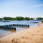 Клязьминское водохранилище пляж