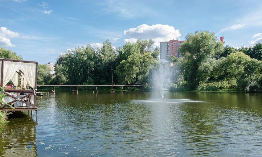 зона отдыха Троицкое водопад