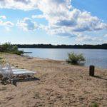 Преборы пляж Рыбинском водохранилище