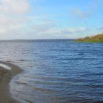 Рыбинское водохранилище Милюшино