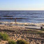 Рыбинское водохранилище пляж