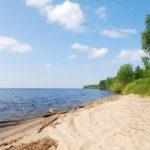 пляж № 2 на Рыбинском водохранилище