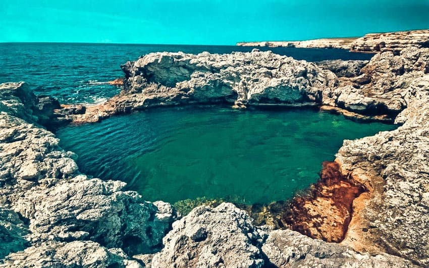 Пляж «Чаша любви» Тарханкут