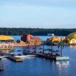 Пироговское водохранилище пляж Малибу