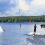 Пляж флагман на Пироговском водохранилище