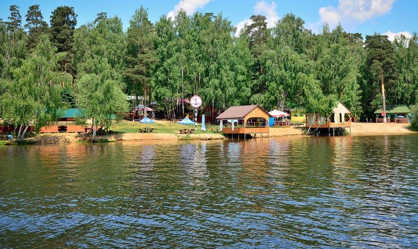 Бухта Радости на Пироговском водохранилище