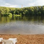 Пляж Серебряный бор. Пляж №2