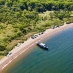 Пляж остров Русский