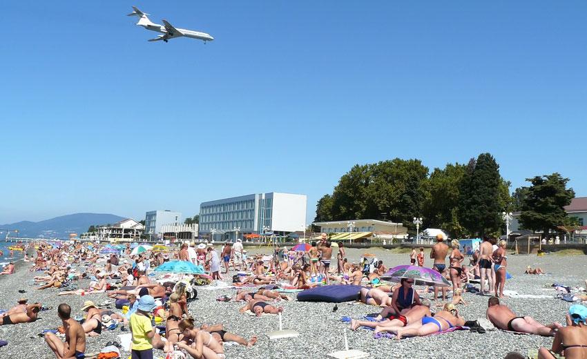 адлер курортный городок пляжи фото отдельных