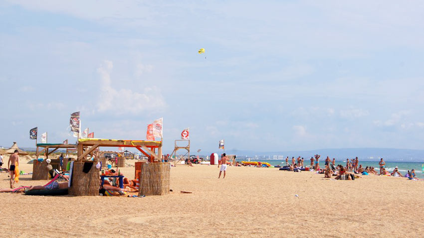 отдых на пляже Тортуга