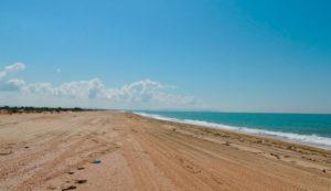 лето пляж Витязево