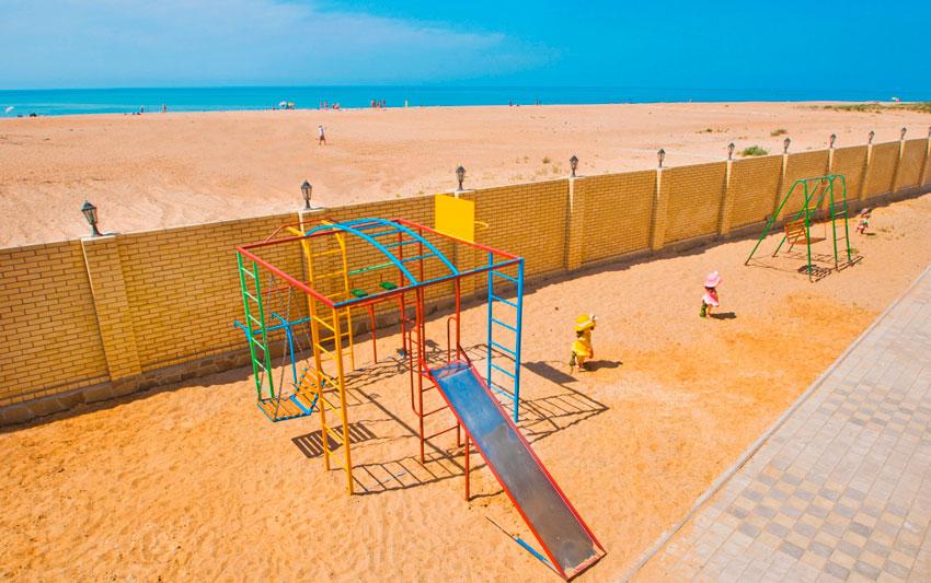 Благовещенская пляж Кассандра