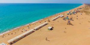 станица Благовещенская пляж