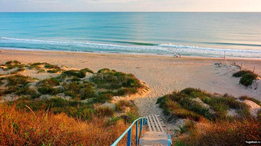 пляж Эдем Благовещенская