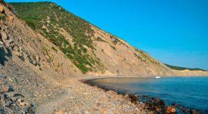 Утриш побережье лагуны