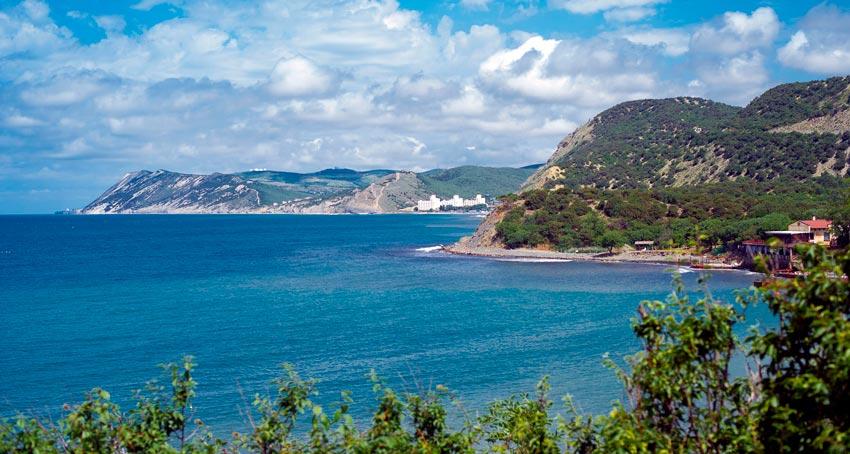 побережье малого Утриша