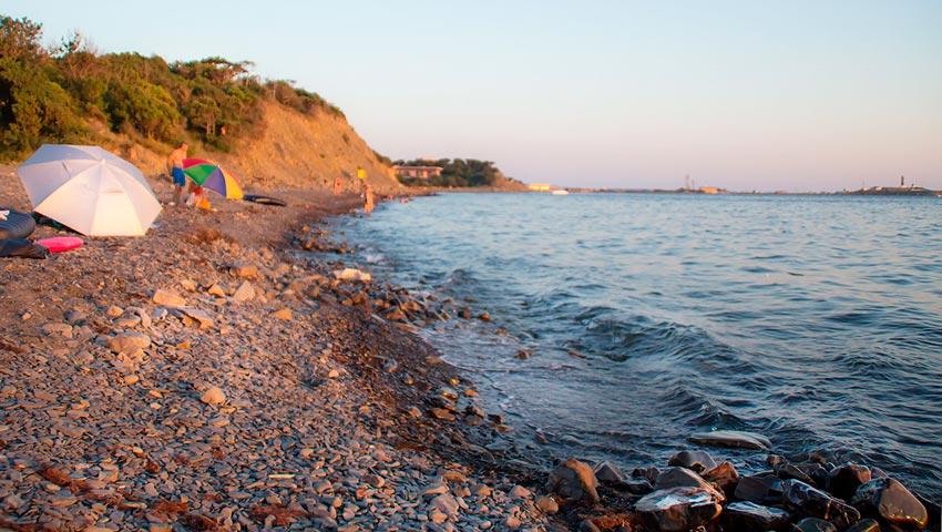 дикий пляж Утриш