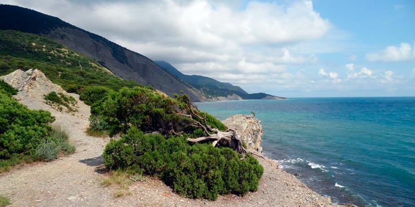 Константиновский пляж Утриш