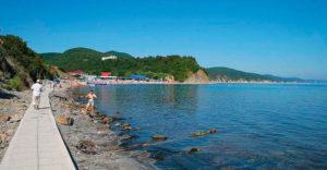 Бетта море пляж