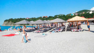 пляж Бетта Краснодарский край