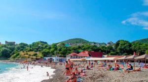 центральный пляж Бетта